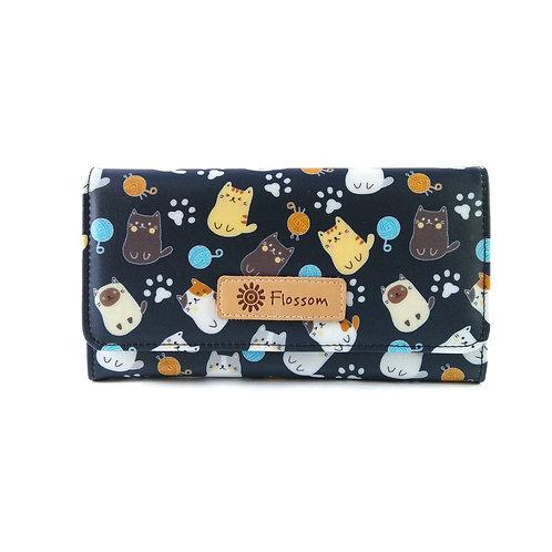 Flossom Flip Cover Long Wallet