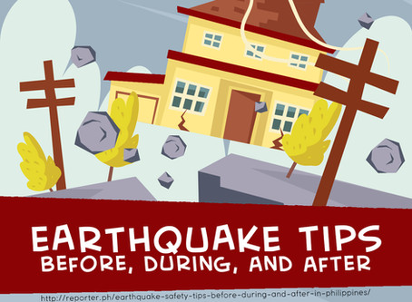Safety Tips Before, During, and After an Earthquake