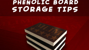 Phenolic Board Storage Tips