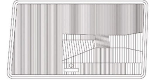 MERCEDES E SERİSİ W124 SAĞ FAR CAMI A1241153R