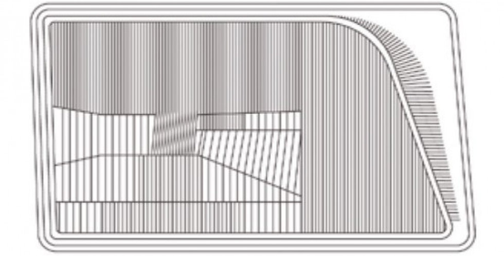 MERCEDES E SERİSİ W124 SAĞ FAR CAMI A1241154R