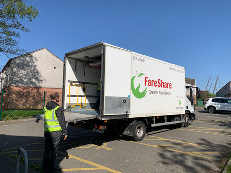 GTM joins Manchester COVID Food Response