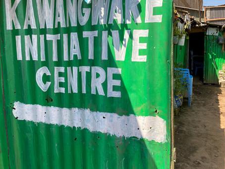 "Einsatz im Waisenhaus ""Kawangware Initiative Centre"""