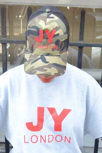 JYLondon Camo Snapback Cap