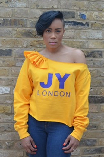 JYLondon Off Shoulder Sweater