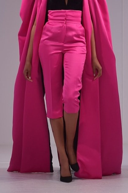 Diva High Waist Crop Trousers