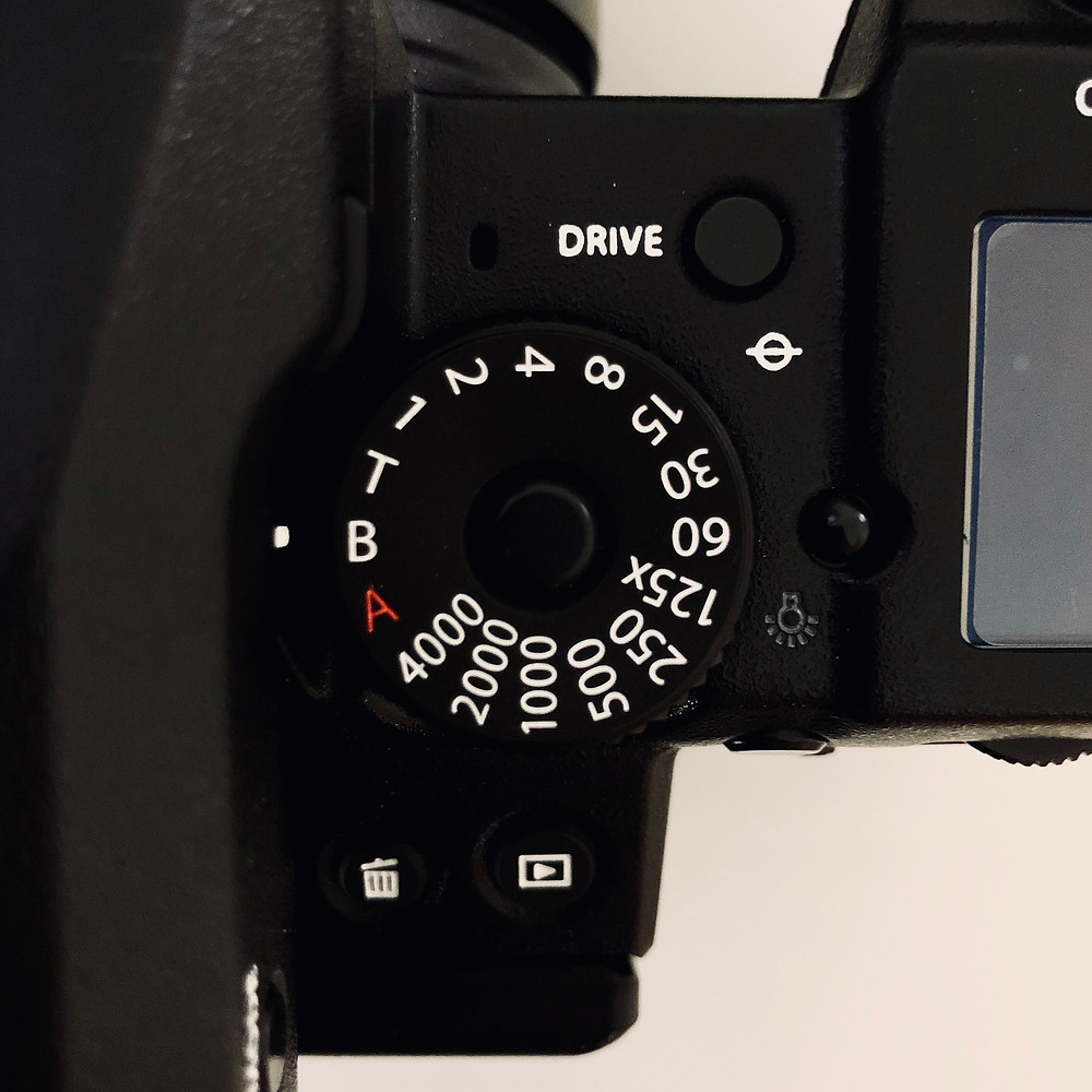 FUJI GFX50S bulbmode location