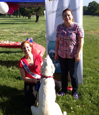 Quibus Paws at The American Heart Association's Greater Union Heart Walk