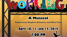 "We are glad to support ""Working"" a Musical at  Thomas Jefferson Arts Academy Theater ."