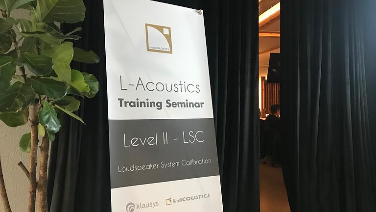 2019 L-ACOUSTICS LEVEL II -  LSC