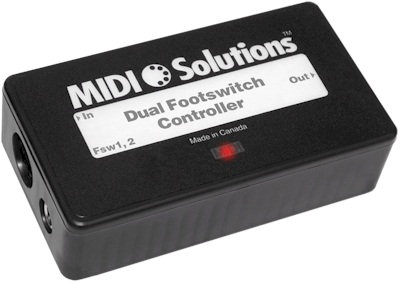 Dual Footswitch Contoller