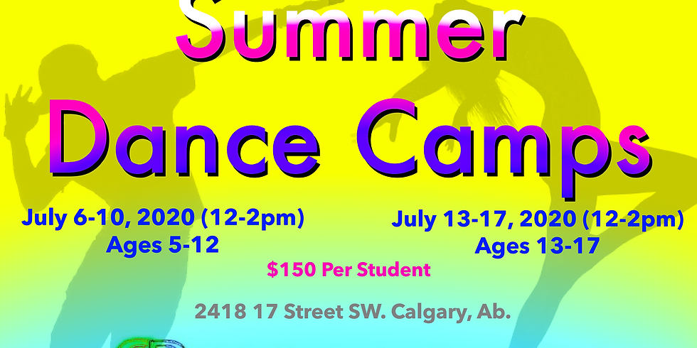 Kids Summer Dance Camp 2020 (Ages 13-17)