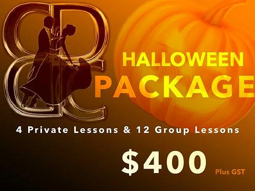 Halloween Dance Package