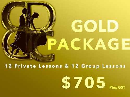 Gold Dance Package