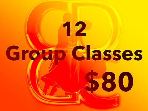 12 Group Dance Classes For Members Only!