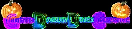 Christifer Duxbury Dance Collective Dance Lessons in Calgary, Alberta - Halloween Logo