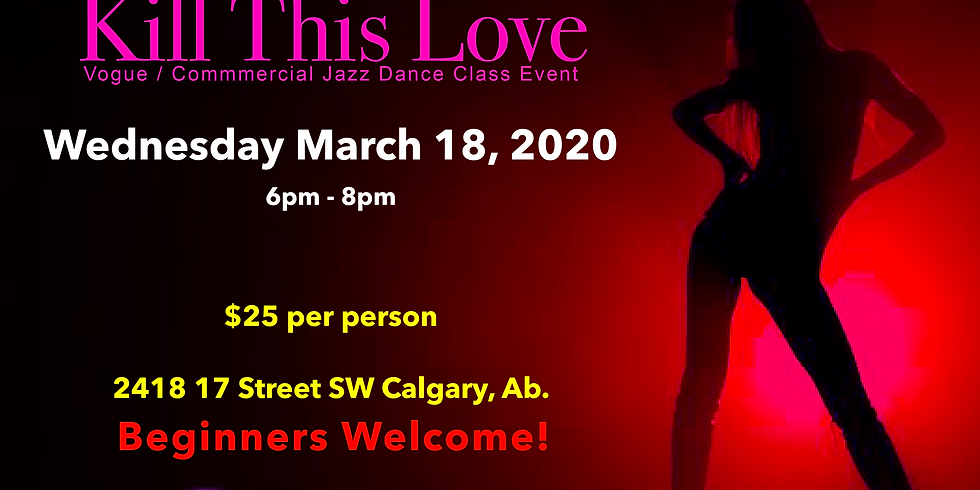 'Kill This Love' Vogue/Commercial Jazz ALL LEVELS