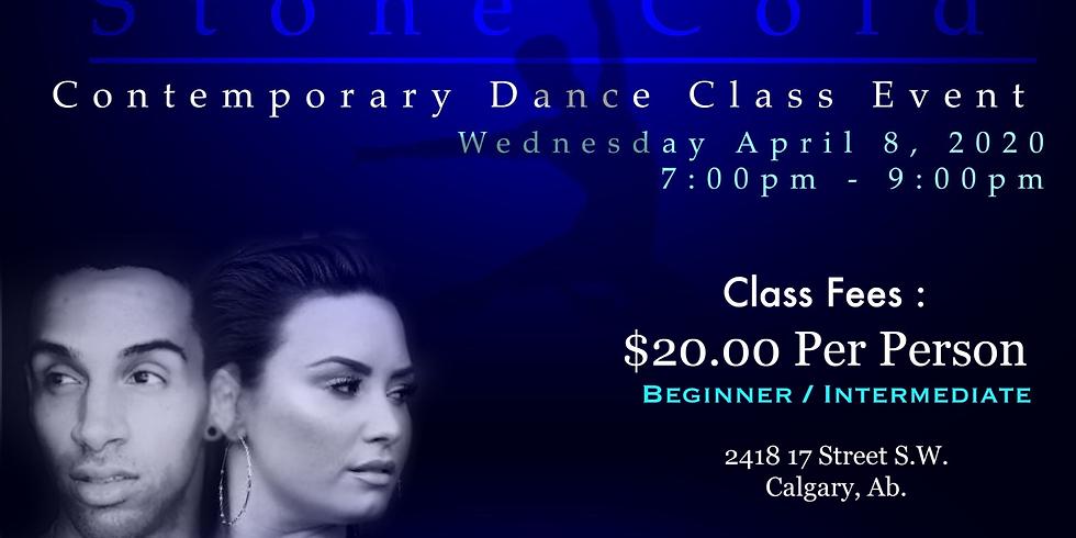 Stone Cold Contemporary Dance Class Event