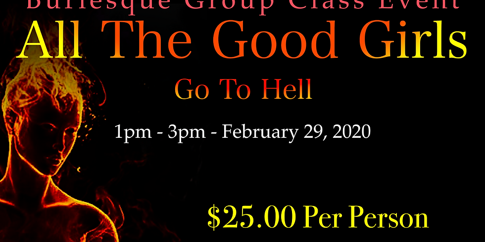 Burlesque Group Class Event (18+)