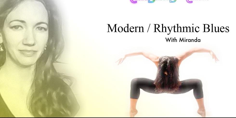 Modern / Rhythmic Blues Choreography Class