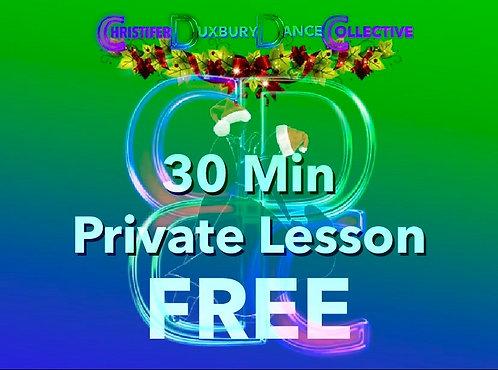 30 Min Lesson FREE