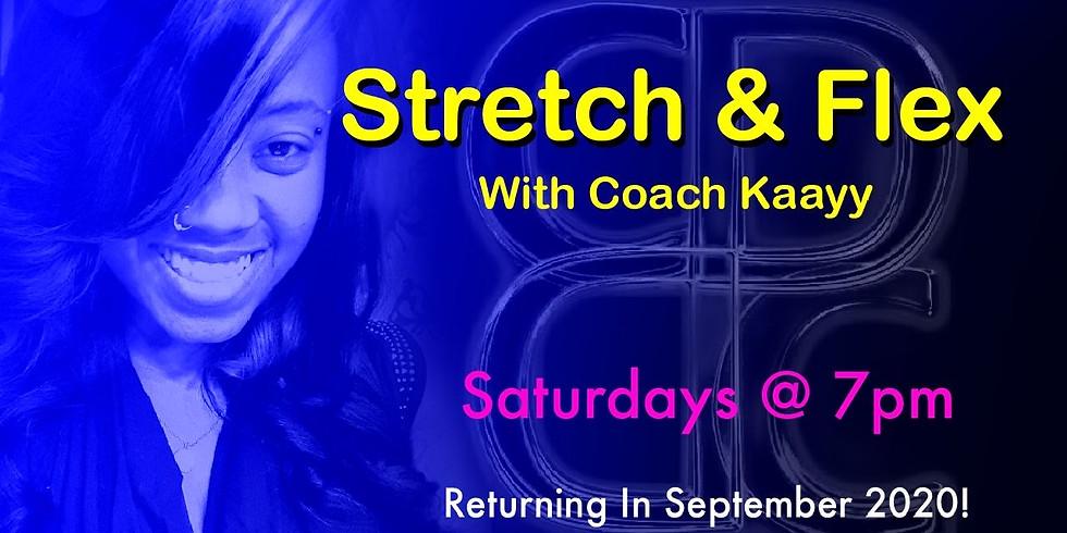 Stretch & Flex Dance Fitness Hour SEPT5