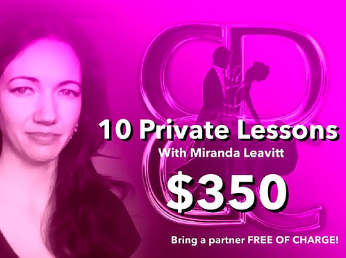 10 Private Lessons With Miranda