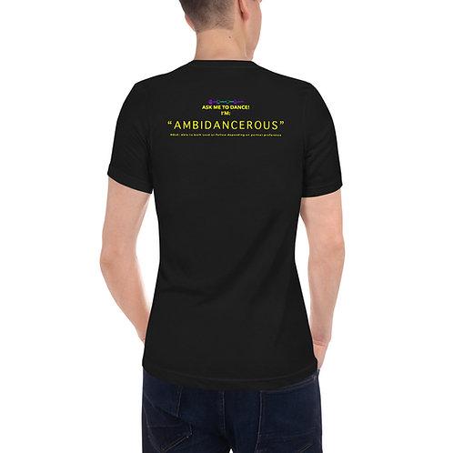 Social Dance - Ambi - Unisex Short Sleeve V-Neck T-Shirt