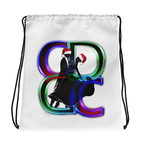 Holiday Drawstring Shoe Bag