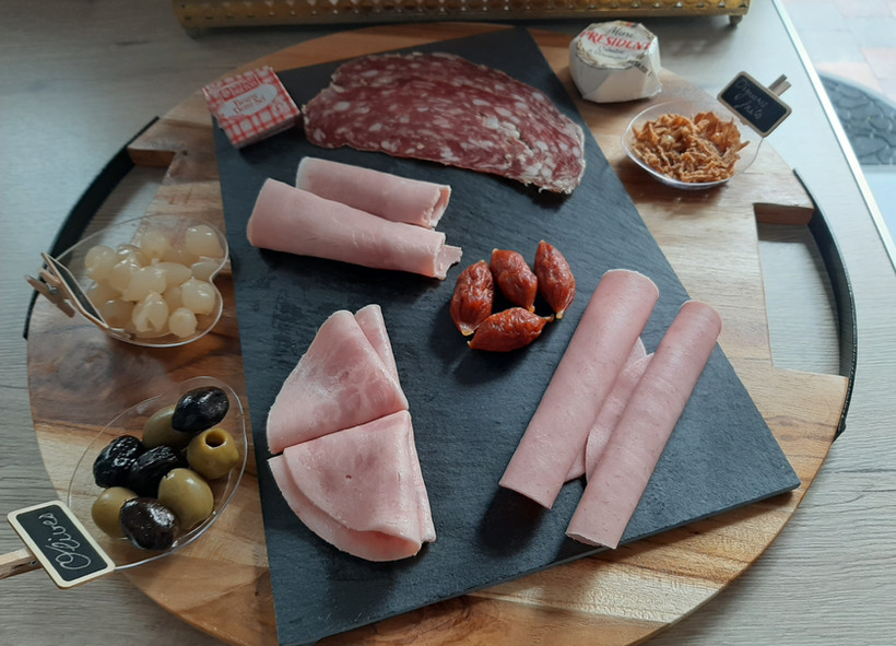 2ème petit plateau charcuterie fromage