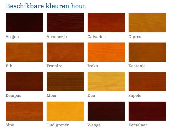 kleuren hout rame en deuren,verf,