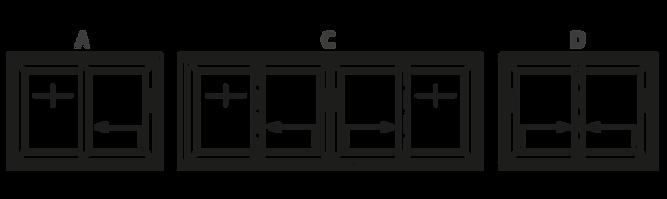 hefschuifdeuren schema