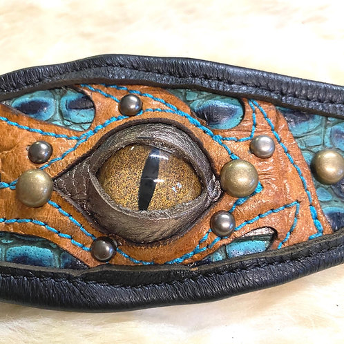 Leather Eyeball Cuff