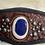 Thumbnail: Leather Lapis Lazuli Cuff