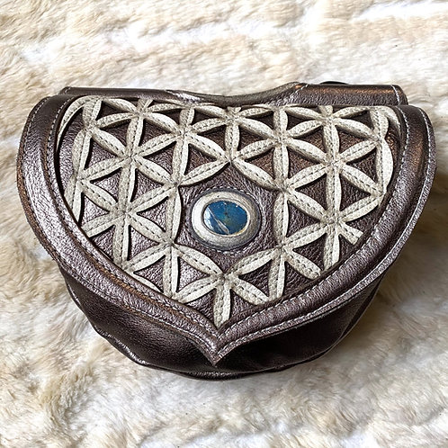 Detachable Flower of Life Pocket