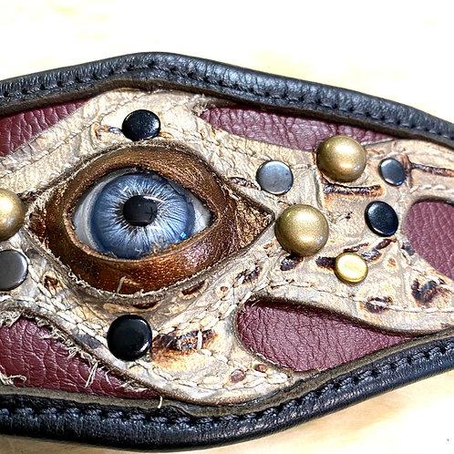 Leather Eyeball Cuff
