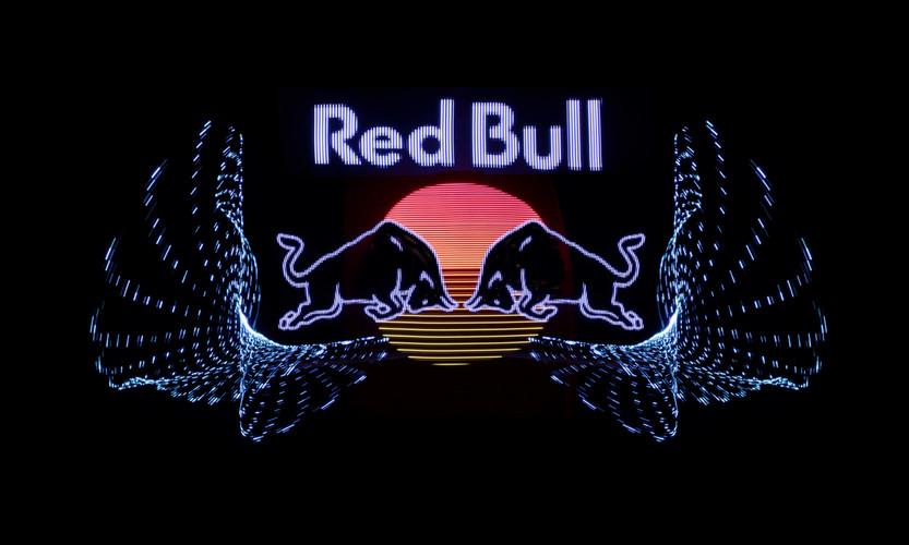 RED BULL LIGHTPAINTING