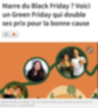 Black friday, Green friday