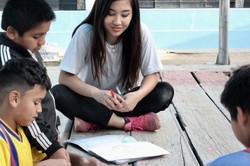 Kazuna Yamamoto leading workshops