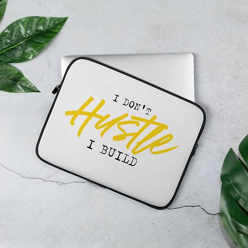 Build vs Hustle Laptop Sleeve