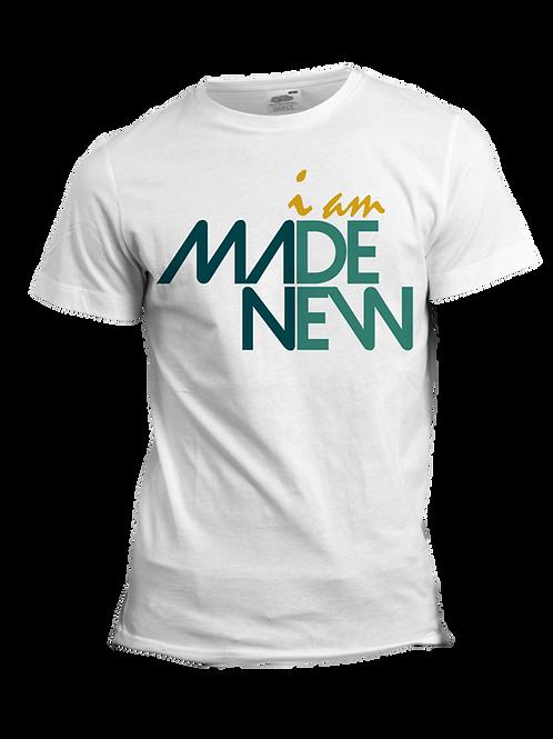 Men's White Graphic Tee