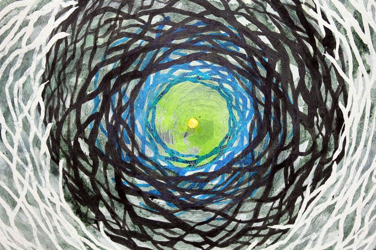 Green Nest (detail)