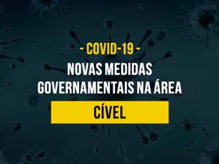 MEDIDAS IMPLEMENTADAS NA ÁREA CÍVEL EM RAZÃO DA PANDEMIA – COVID-19