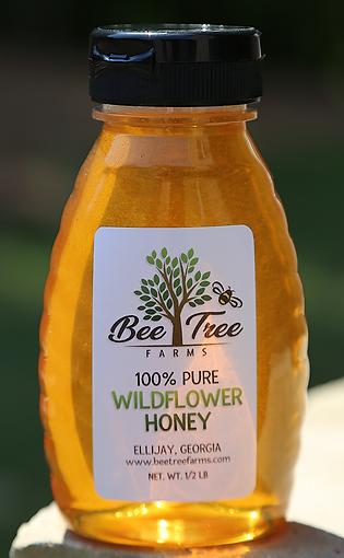 1/2 lb Wildflower Honey