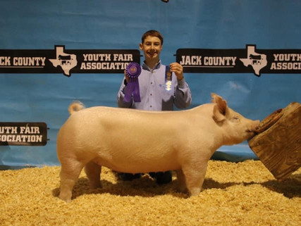 2020 JACK COUNTY FAIR, TX