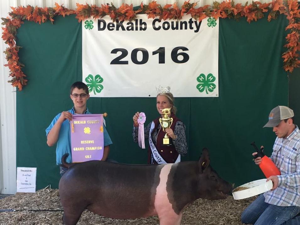 2016 DEKALB COUNTY FAIR, IN