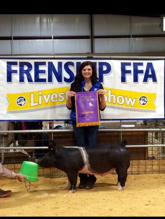 2014 FRENSHIP FFA SHOW, TX