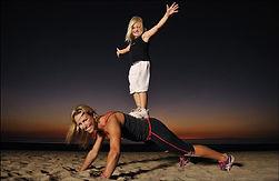 фитнес дети и взрослые