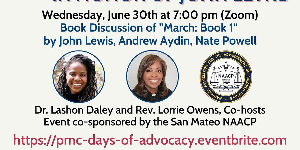 Days of Advocacy in Honor of John Lewis