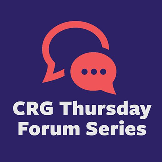 CRG Thursday Forum Series Featuring Dr. Savannah Shange